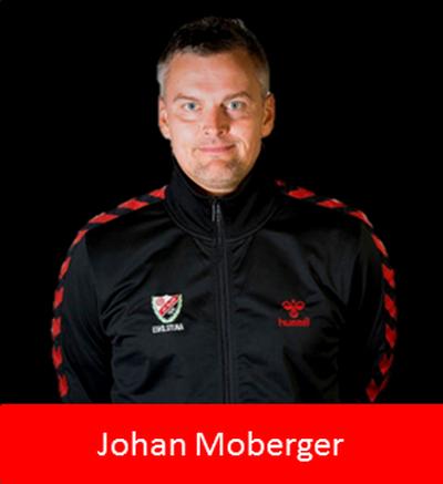 Damlagets tränare Johan Moberger om första veckans gemensamma träning.