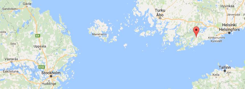 Herrlaget åker till Finland