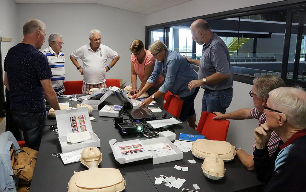 Utbildning i hjärt- och lungräddning