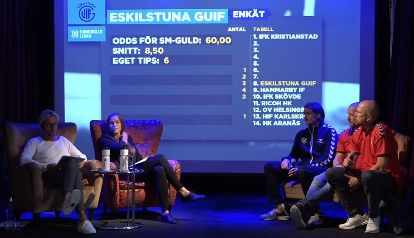 Eskilstuna Guif tippas gå till slutspel