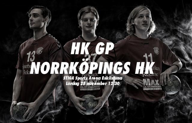 GP tar emot Norrköpings HK på lördag