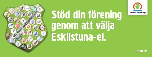 Sponsringsstöd från Eskilstuna Energi & Miljö