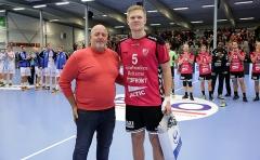 Ellfolk delar ut pris till Sjöbrink