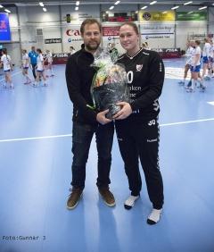 Matchens lirare Josefine Brodd Björklund