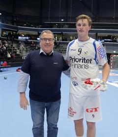 matchens lirare RIK Jonathan Carlsbogård