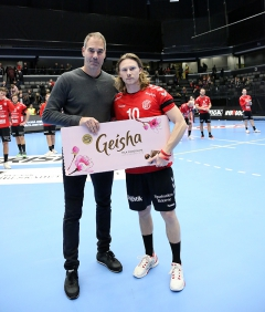 Matchens lirare Fredrik Gustavsson o Tomas Svensson