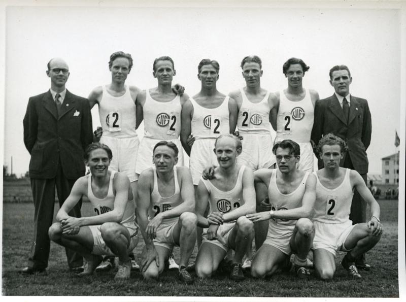 Guif stafettlag 1930 talet
