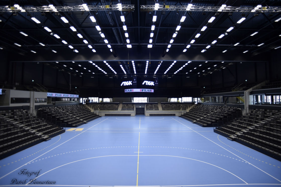 Smygtitta in i STIGA Sports Arena