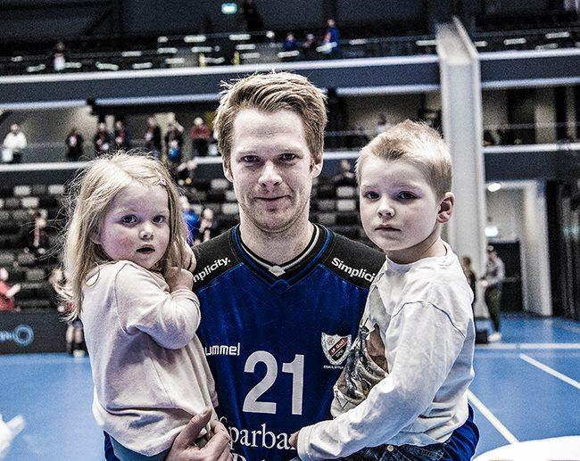 Larsson med barnen