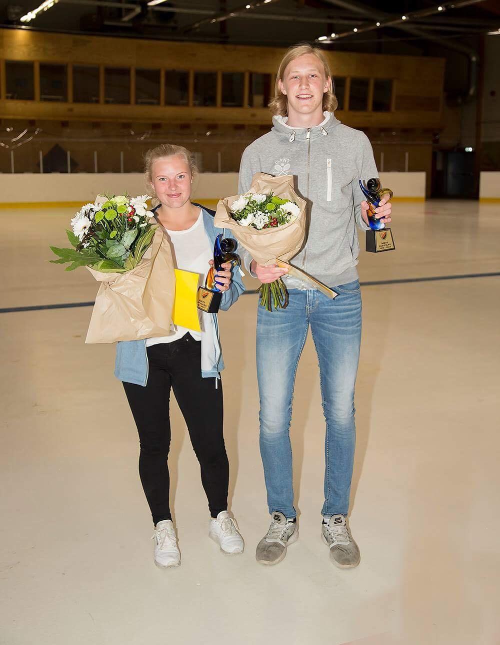 Emma Mathisen och Eric Johansson