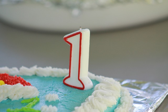 Hemsidan fyller 1 år!