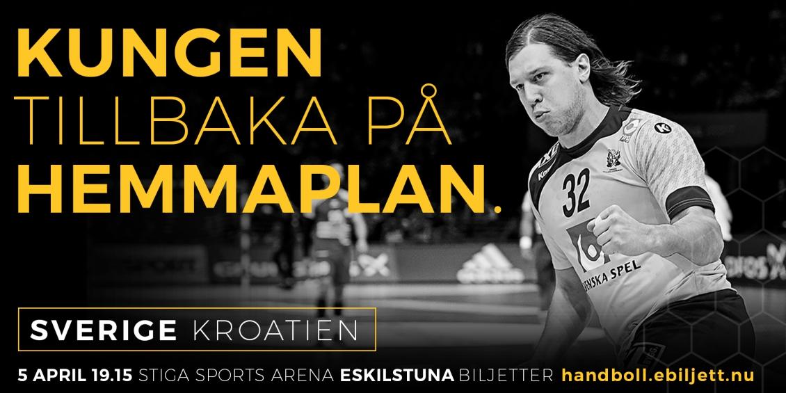 Biljettsläpp Sverige-Kroatien!