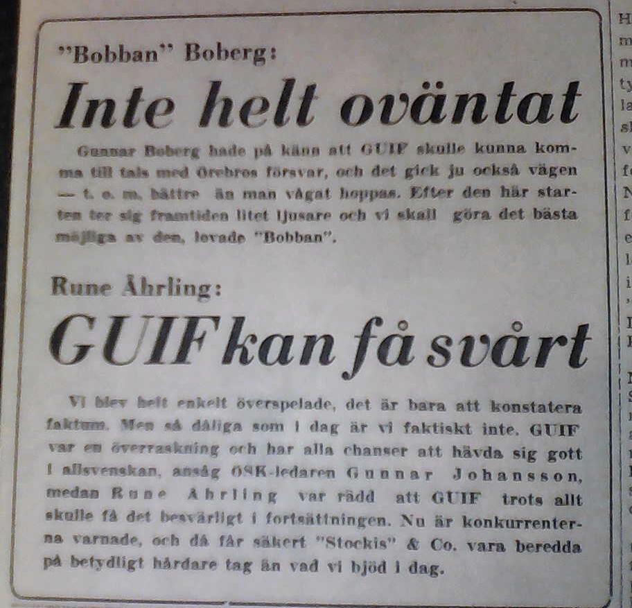 Tidningsklipp 2 1958
