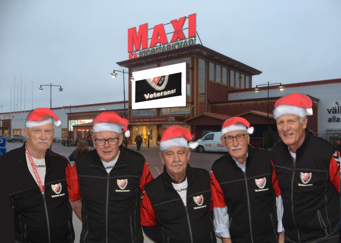 Guifveteranerna bjöd på julmust och pepparkakor