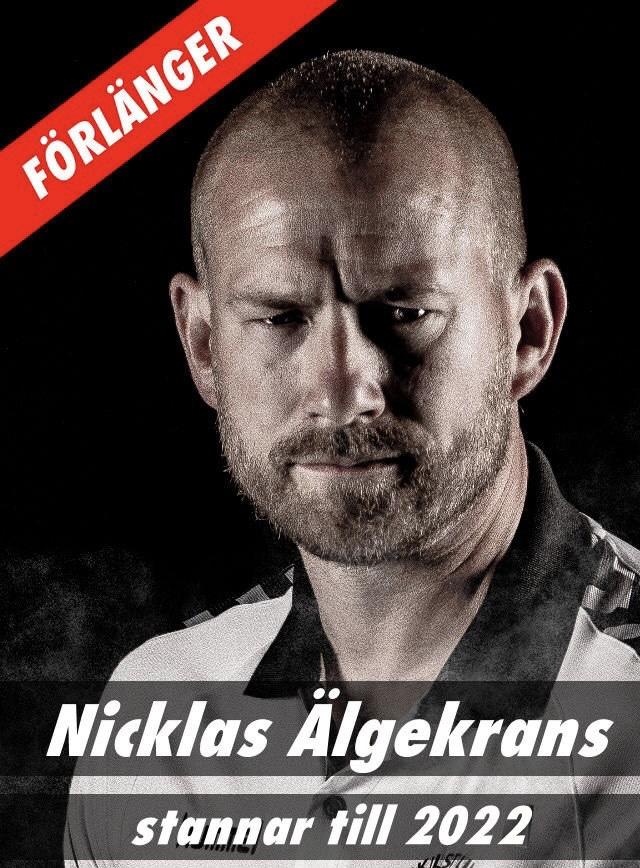 Nicklas Älgekrans fortsätter som damtränare