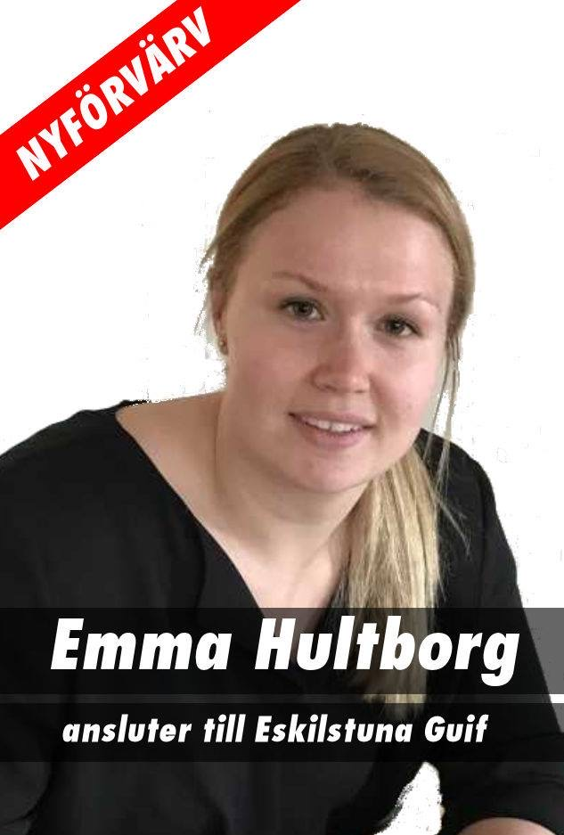 Emma Hultborg ansluter till Eskilstuna Guif