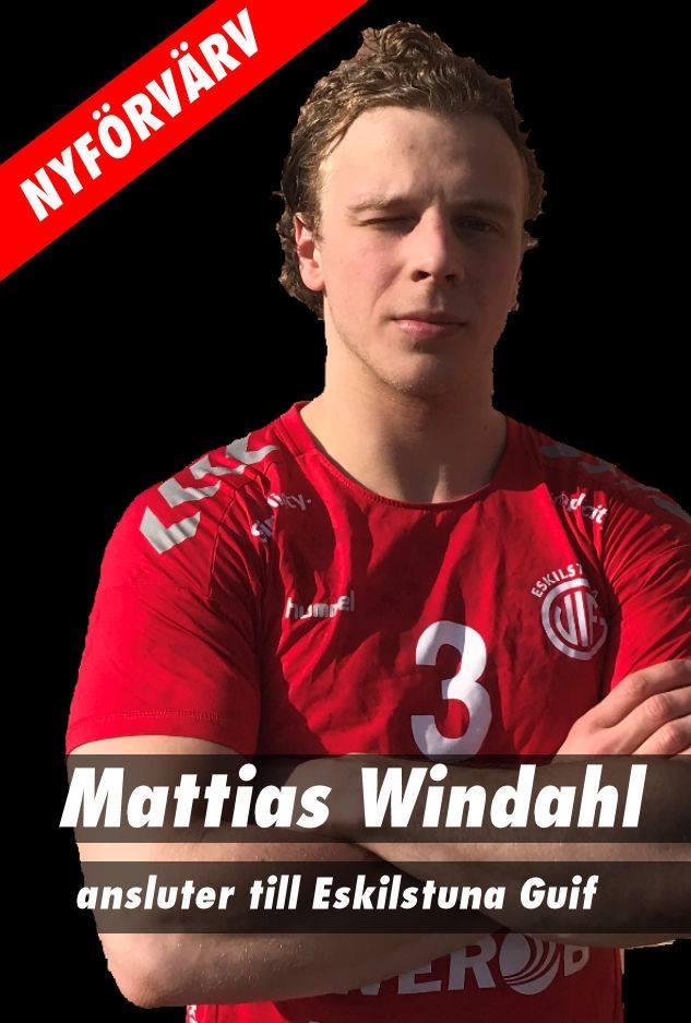 Mattias Windahl ansluter till herrlaget