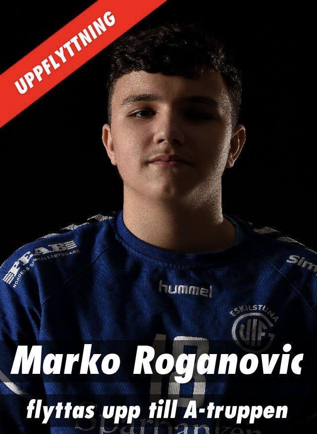 Marko Roganovic förstärker herrlaget
