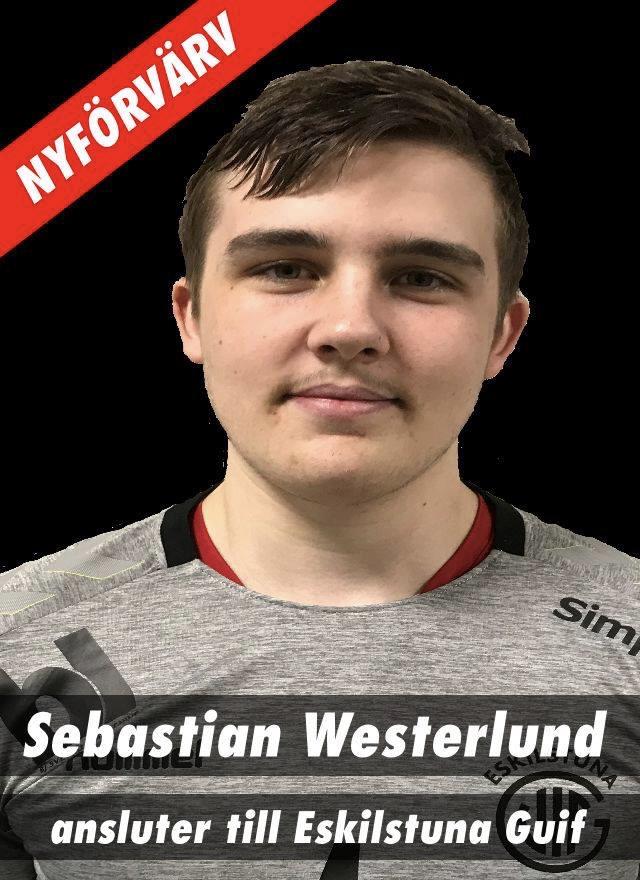 Sebastian Westerlund återvänder till Eskilstuna Guif