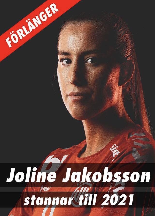 Joline stannar i Eskilstuna Guif