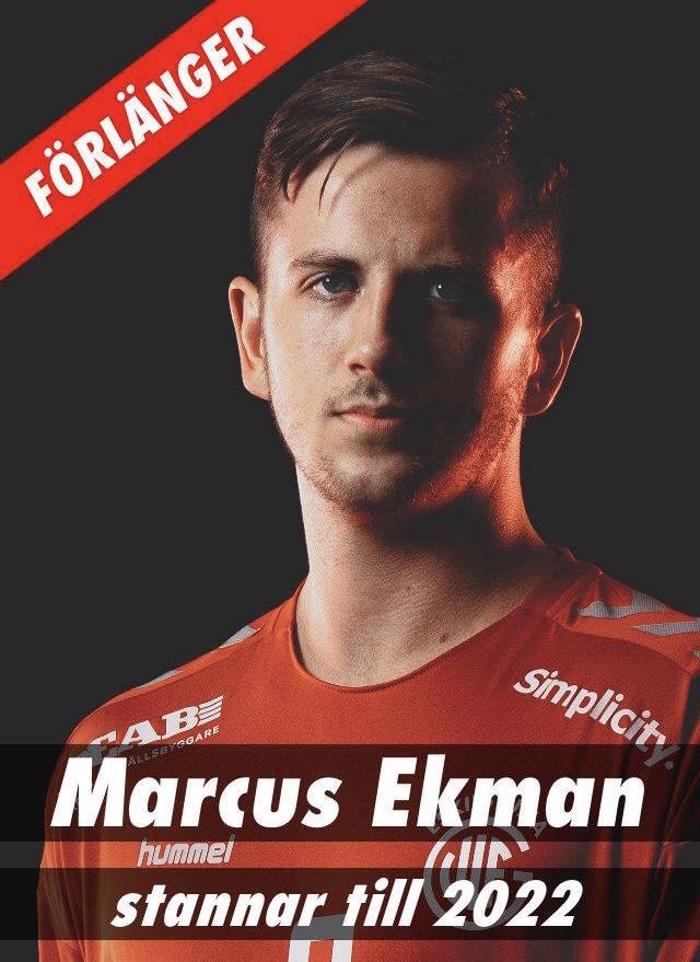 Nytt kontrakt med Marcus Ekman