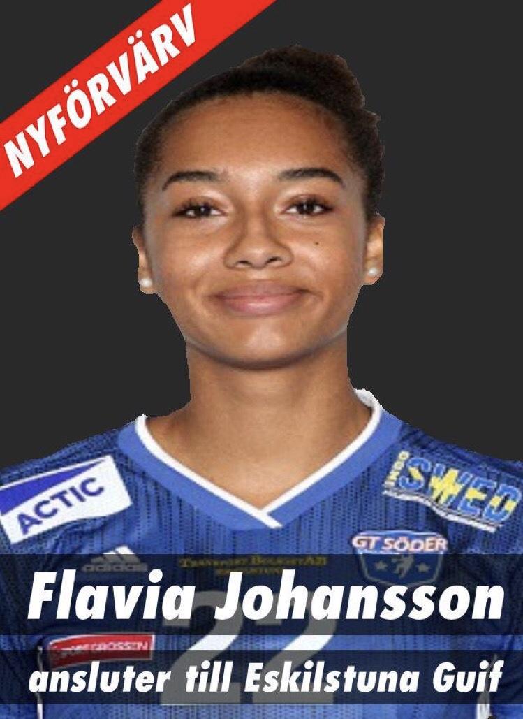 Flavia Johansson till Eskilstuna Guif