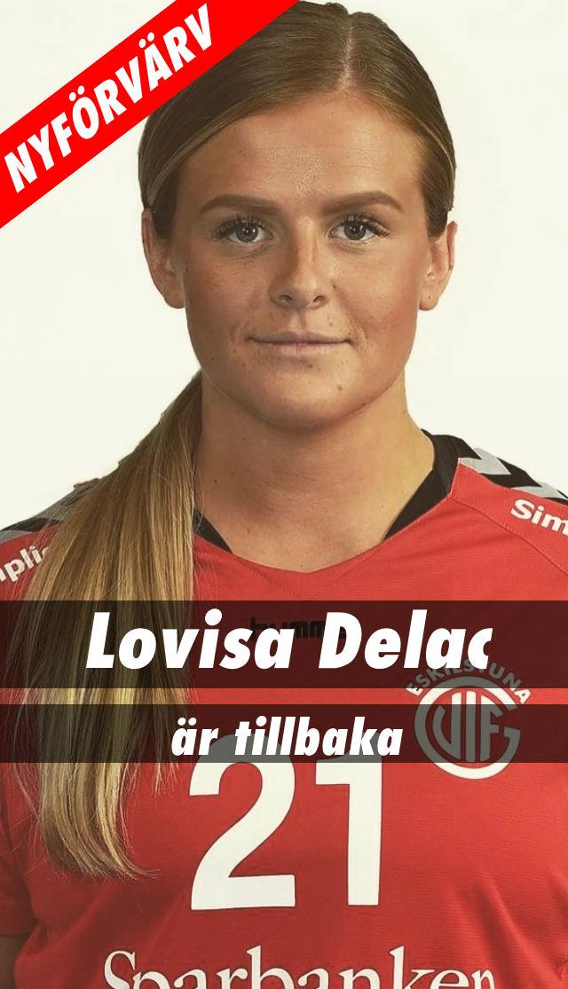Lovisa Delac tillbaka i Eskilstuna Guif