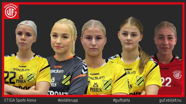 Fem spelare lyfts upp från samarbetsklubben Gökstens BK