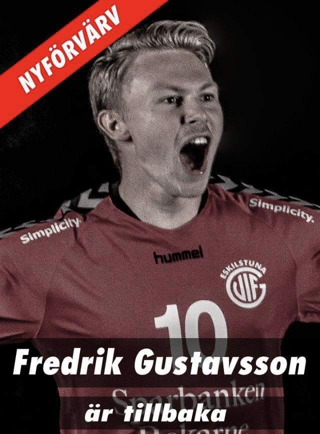 Fredrik Gustavsson återvänder till Eskilstuna Guif