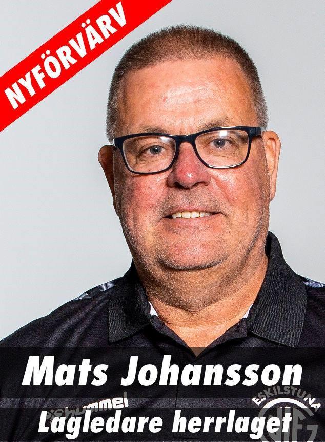 Mats Johansson ny lagledare för herrarna
