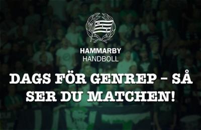 Hammarby borta