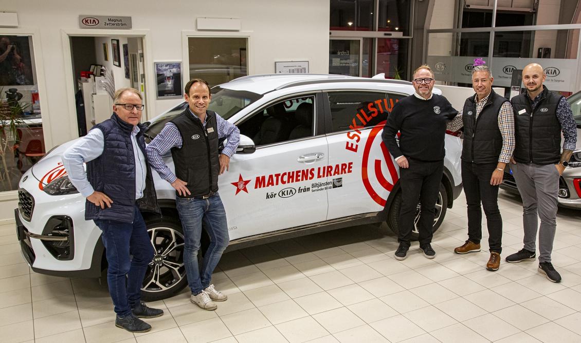 I veckan samlades både herr- och damlaget på sponsorer Biltjänsten Serrander bil