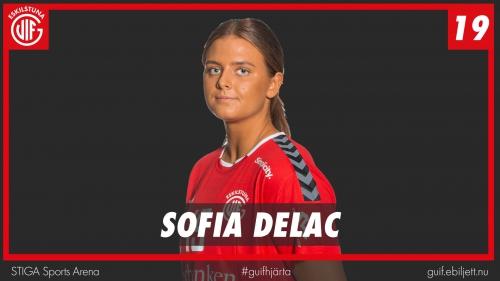 Sofia Delac inför Tyresö hemma