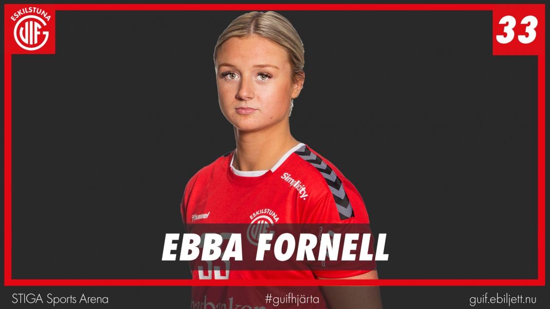 Ebba Fornell lånas ut