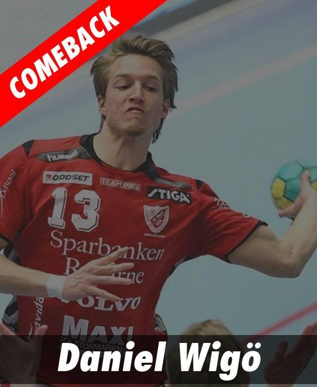 Daniel Wigö gör comeback