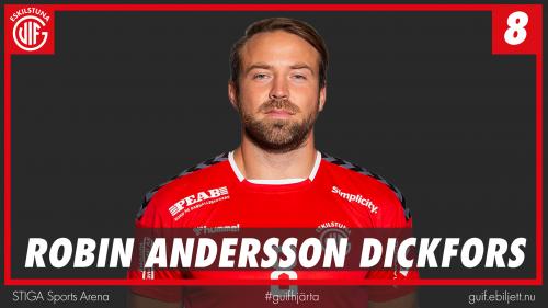 Robin Andersson Dickfors inför Varberg hemma