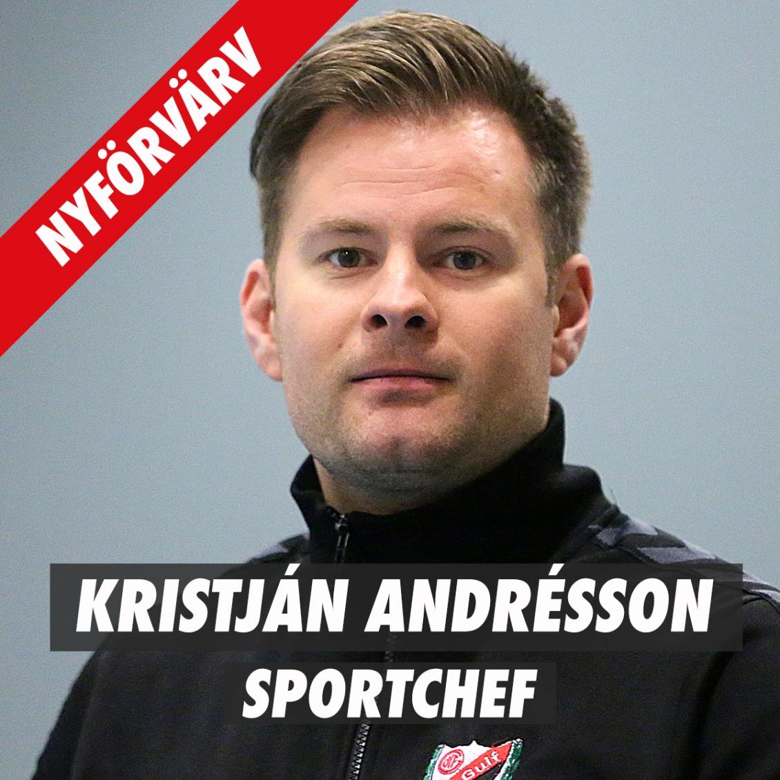 Eskilstuna Guif förstärker med Kristján Andrésson som Sportchef!
