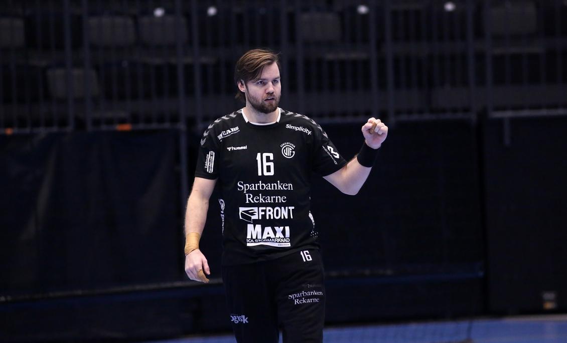 Freyr Andrésson storspelade i segermatchen mot Kristianstad