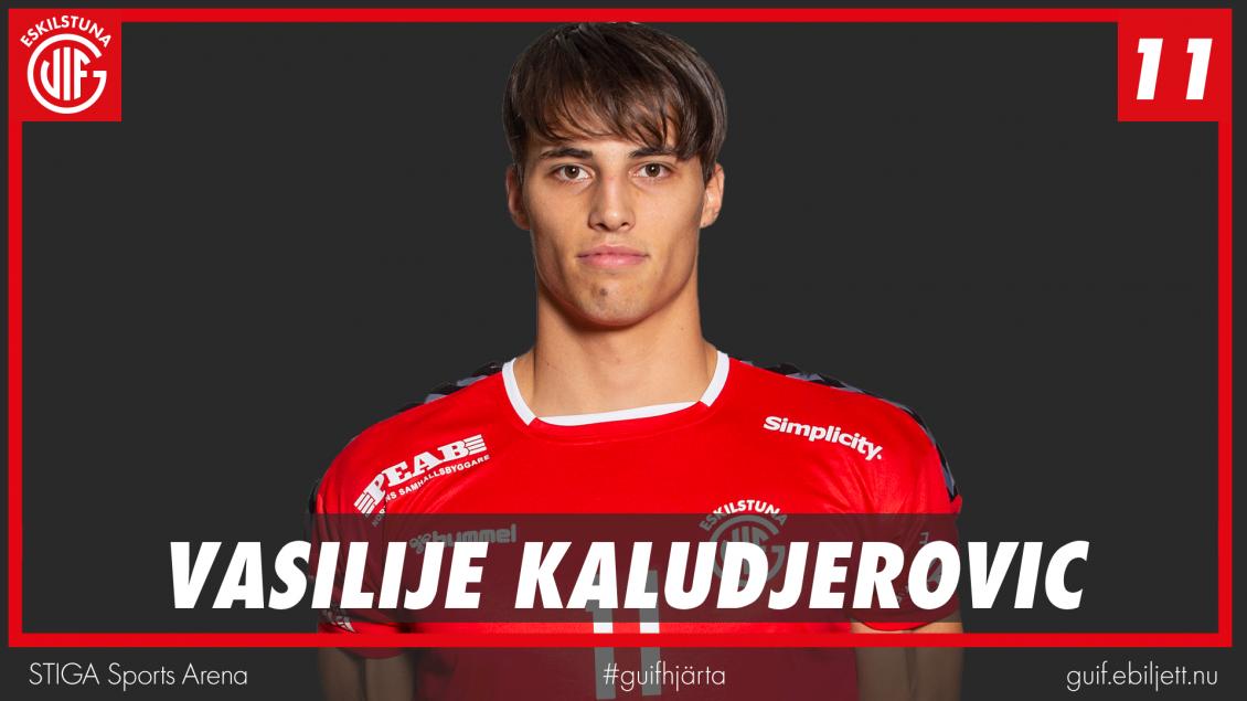 Vasilije Kaludjerovic lämnar!