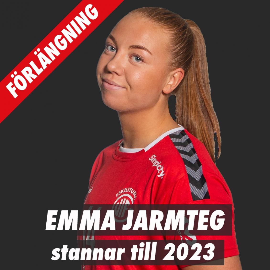 Emma Jarmteg förlänger!