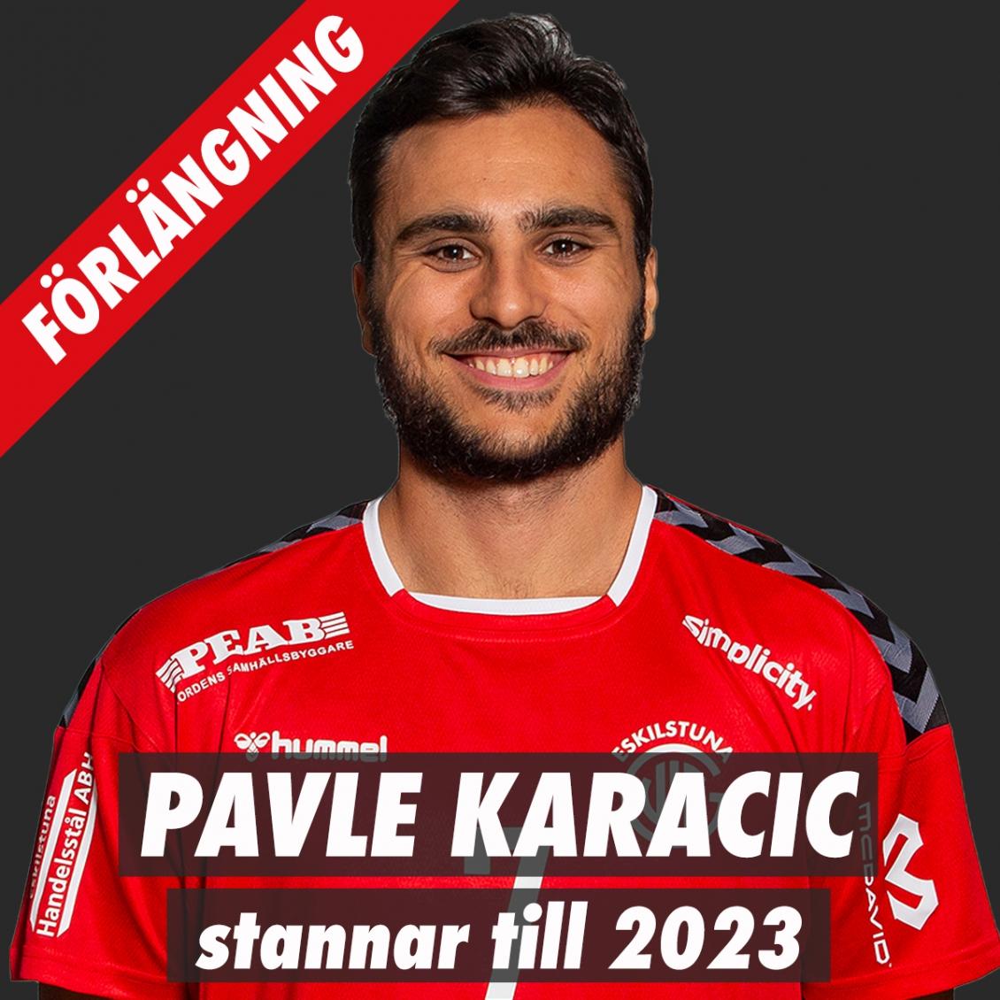 Pavle Karacic förlänger