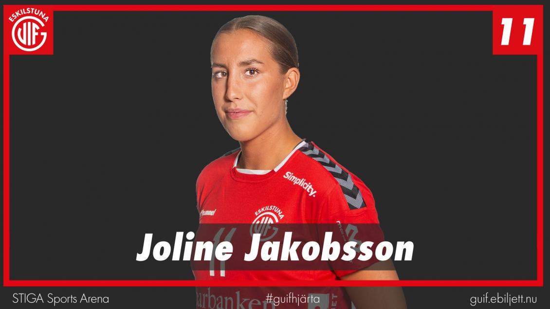Joline Jakobsson missar resten av säsongen