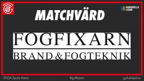 Matchvärd Fogfixarn
