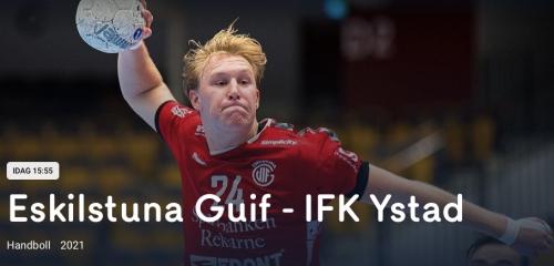IFK Ystad vs Guif cmore