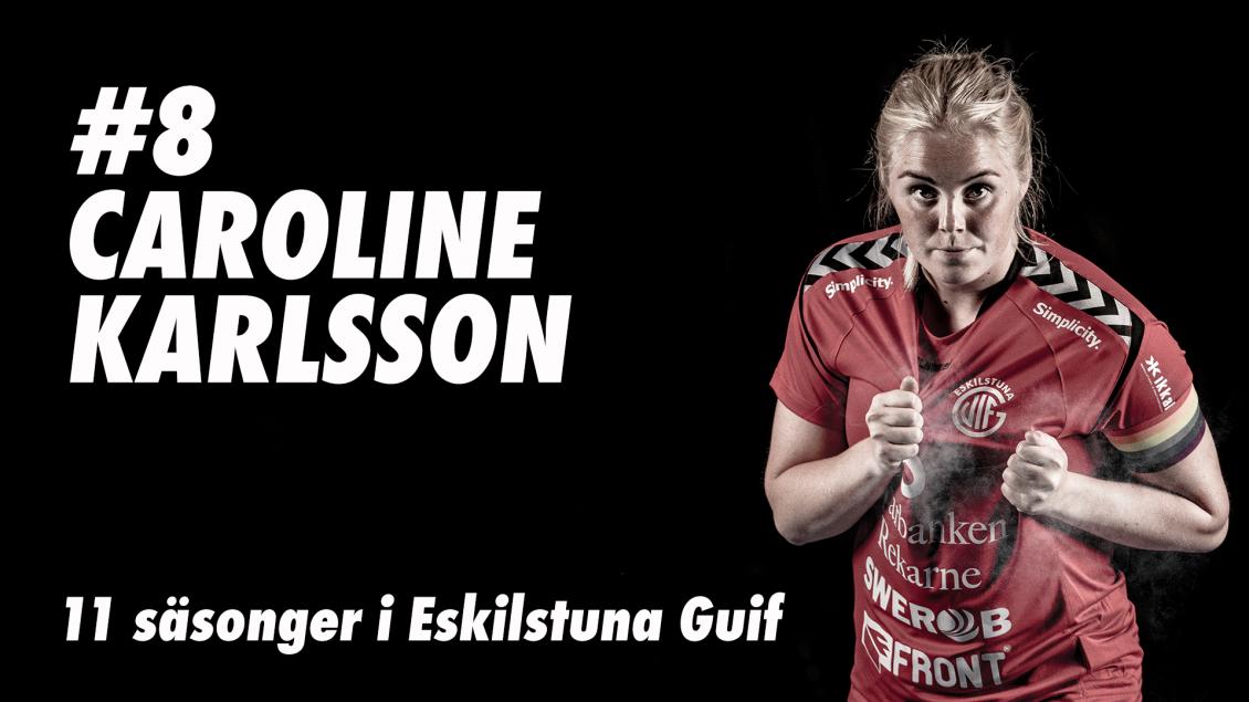 Caroline Karlsson avslutar karriären efter säsongen