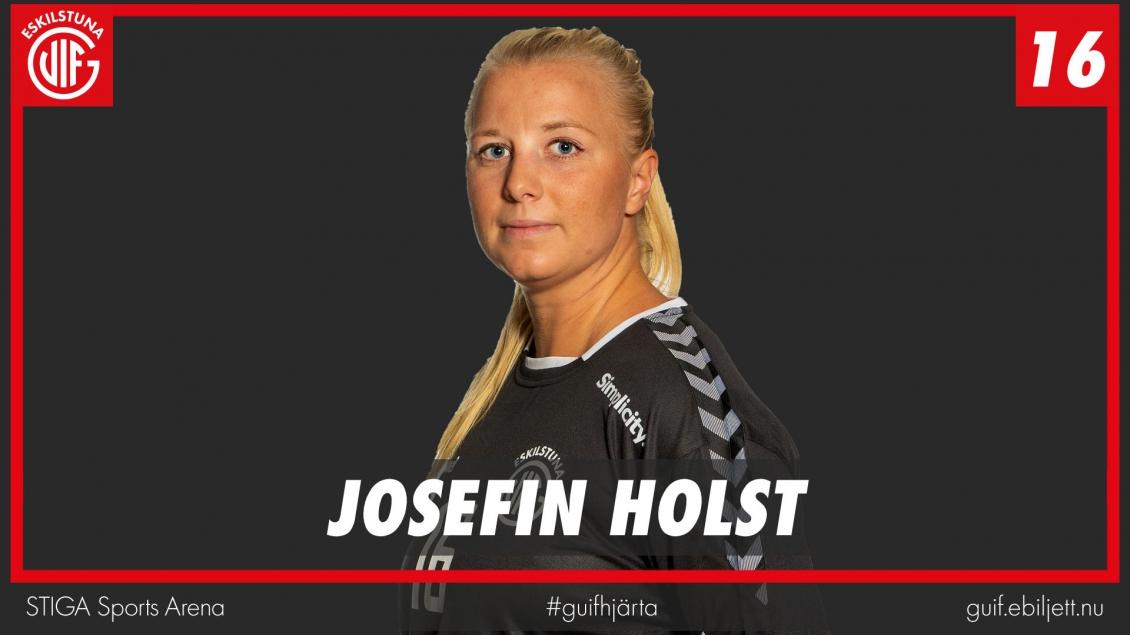 Josefin Holst inför Kärra
