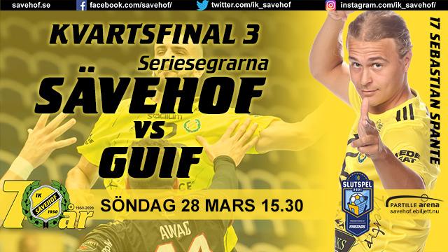 Kvartsfinal 3 Sävehof - Guif