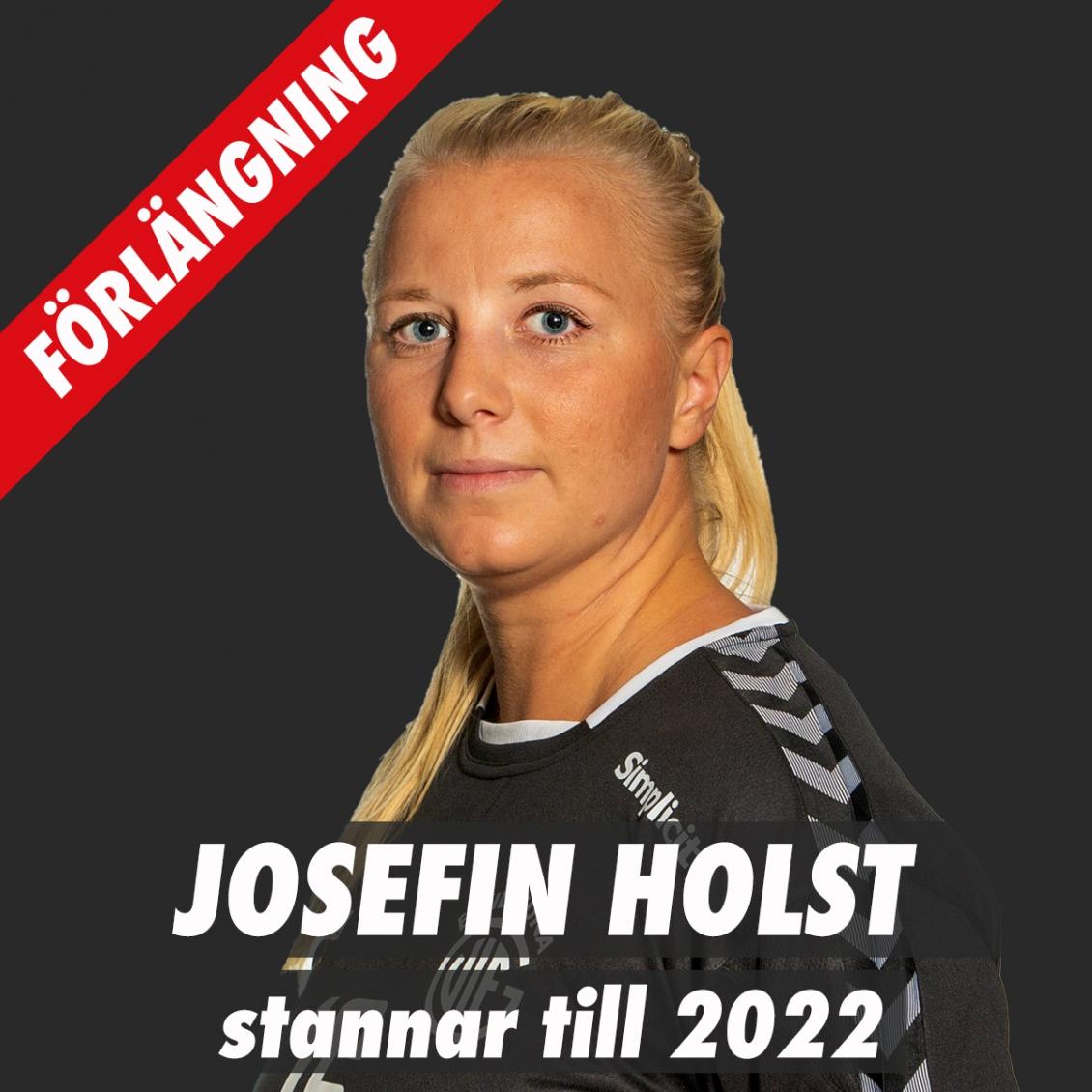 Josefin Holst förlänger