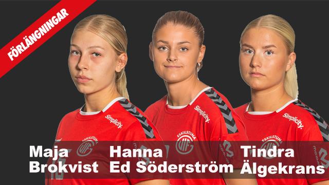 Tre damspelare förlänger