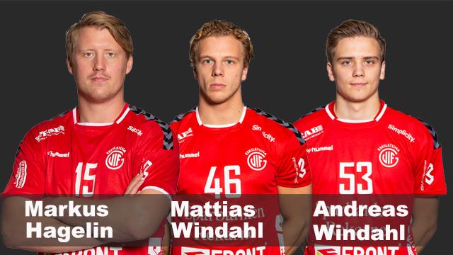 Tre spelare lämnar Eskilstuna Guif